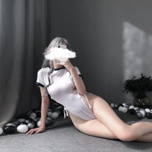 【情趣内衣】性感水手开叉连体开档套装 ZOCOLA/佐卡莲